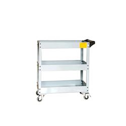ATIS CT903B Инструментальная тележка 180кг, 3 полки, 800*383*855мм Atis Мебель металлическая Сервисное оборудование