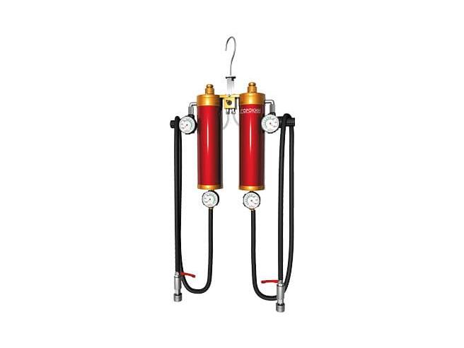 Сорокин 21.2 Установка для промывки инжектора с двумя резервуарами 800мл Сорокин Стенды и установки Замена жидкостей